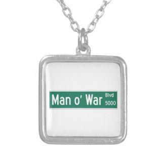 Bulevar de la guerra de O del hombre, placa de Joyerias Personalizadas