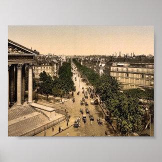 Bulevar de la Madeline (es decir, Madeleine), Parí Impresiones