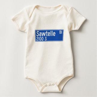 Bulevar de Sawtelle, Los Ángeles, placa de calle Body Para Bebé