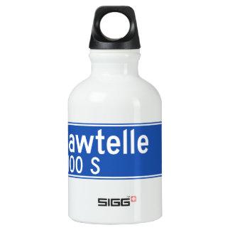 Bulevar de Sawtelle, Los Ángeles, placa de calle Botella De Agua