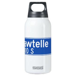 Bulevar de Sawtelle, Los Ángeles, placa de calle Botella Isotérmica De Agua