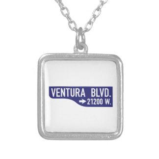 Bulevar de Ventura, Los Ángeles, placa de calle de Colgantes Personalizados