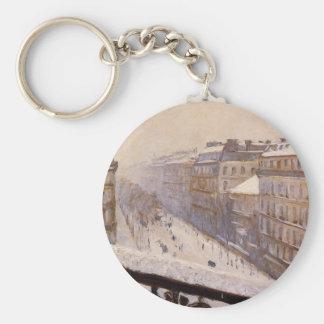 Bulevar Haussmann en la nieve de Gustavo Llavero Redondo Tipo Pin