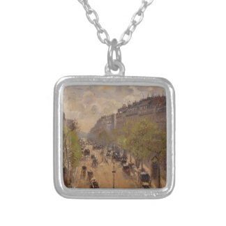 Bulevar Montmartre, primavera de Camilo Pissarro- Grimpola