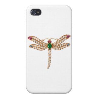 BULGARI DIAMOND DRAGONFLY BEAUTIFUL BLING BLING iPhone 4 COVER