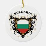 Bulgaria Adorno Redondo De Cerámica