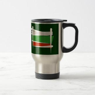 Bulgaria Brush Flag Coffee Mugs