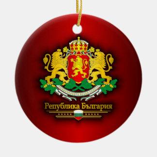 Bulgaria COA Ceramic Ornament