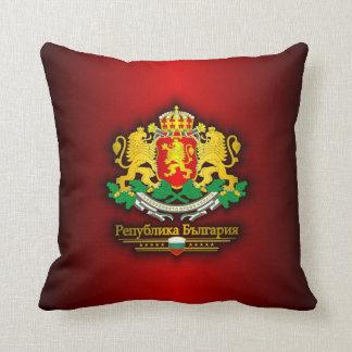 Bulgaria COA Throw Pillow