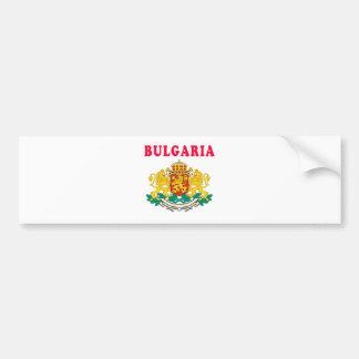 Bulgaria Coat Of Arms Designs Bumper Sticker