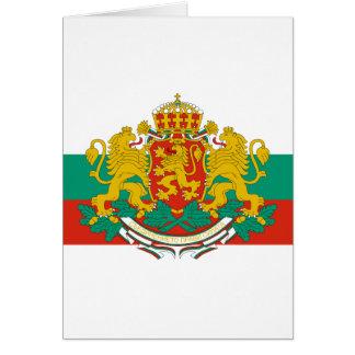 bulgaria emblem cards
