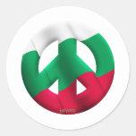 Bulgaria Etiqueta Redonda