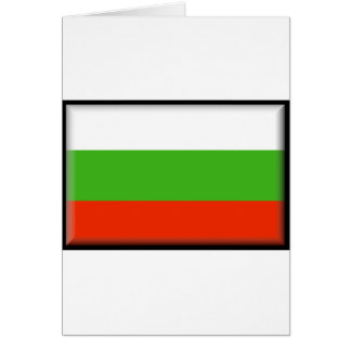Bulgaria Flag Greeting Card