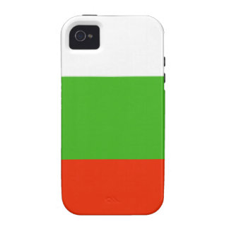 Bulgaria Flag Vibe iPhone 4 Case