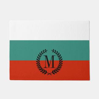 Bulgaria Flag Doormat