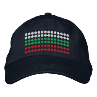 Bulgaria Flag Embroidered Baseball Hat