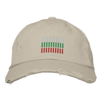 Bulgaria Flag Embroidery Embroidered Hat