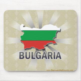 Bulgaria Flag Map 2.0 Mousepad