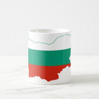 Bulgaria Flag map BG Coffee Mug