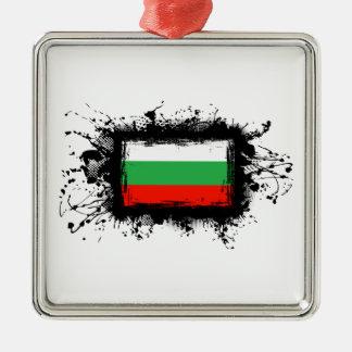 Bulgaria Flag Metal Ornament