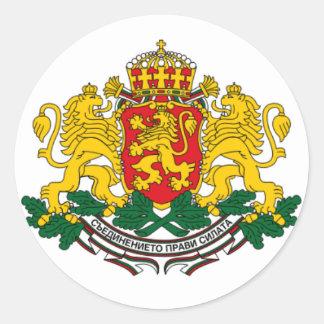 Bulgaria - GERB - arm of coat Classic Round Sticker