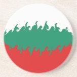 Bulgaria Gnarly Flag Coaster