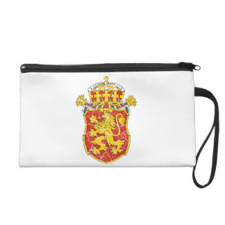 Bulgaria Lesser Coat Of Arms Wristlet Clutches