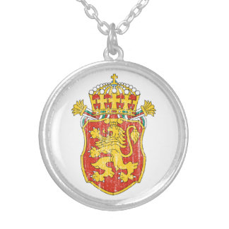 Bulgaria Lesser Coat Of Arms Necklace