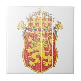 Bulgaria Lesser Coat Of Arms Tile