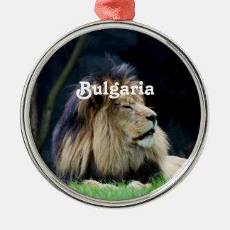 Bulgaria Lion Metal Ornament