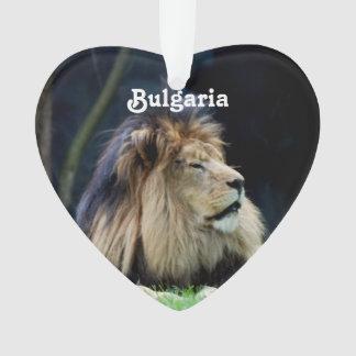 Bulgaria Lion Ornament