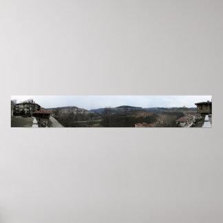 Bulgaria Panoramic 1 Print