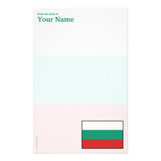 Bulgaria Plain Flag Stationery
