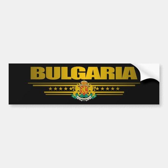 Bulgaria Pride Bumper Sticker