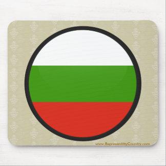 Bulgaria quality Flag Circle Mouse Pad