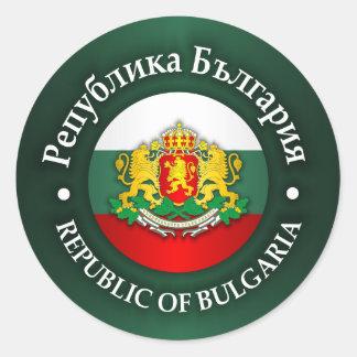 Bulgaria (rd) classic round sticker