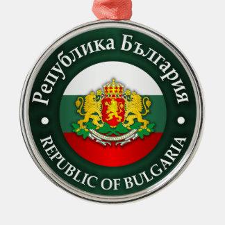 Bulgaria (rd) metal ornament