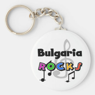 Bulgaria Rocks Keychain