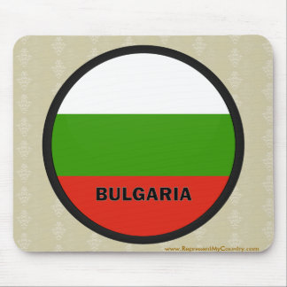 Bulgaria Roundel quality Flag Mouse Pads