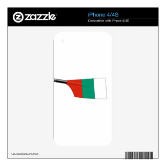 Bulgaria Rowing iPhone 4S Decal