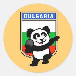 Bulgaria Shot Put Panda Sticker