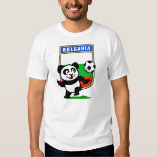 Bulgaria Soccer Panda (light shirts) T Shirt