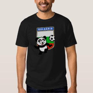 Bulgaria Soccer Panda T-shirt