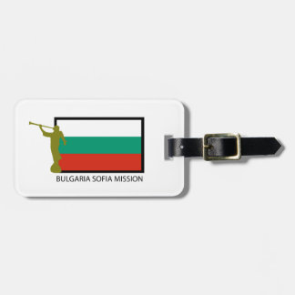 BULGARIA SOFIA MISSION LDS CTR TAG FOR BAGS