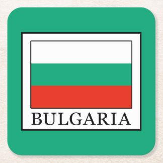 Bulgaria Square Paper Coaster