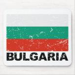 Bulgaria Vintage Flag Mouse Pad