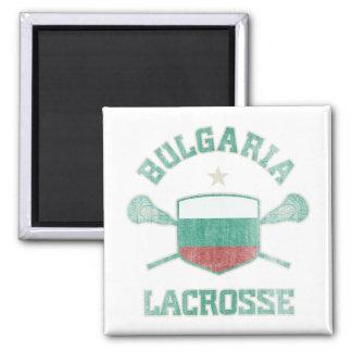 Bulgaria-Vintage Imán Cuadrado