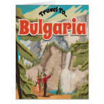 Bulgaria Vintage Travel Poster