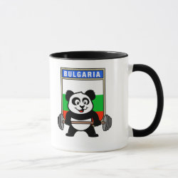 Combo Mug with Bulgarian Weightlifting Panda design
