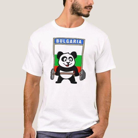 Bulgaria Weightlifting Panda T-Shirt